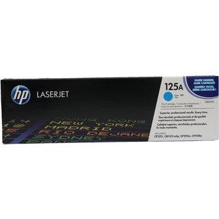 HP 125A Cyan Original LaserJet Toner Cartridge(CB541A)