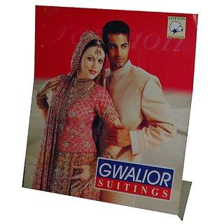 Gwalior Men's Suiting  Shirting Pent Shirt Combo