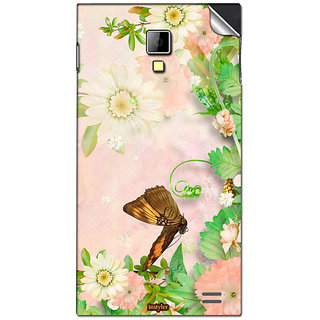 Instyler Mobile Skin Sticker For Karbonn A11 Star MSKARBONNA11STARDS10044