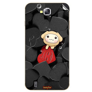 Instyler Mobile Skin Sticker For Karbonn A12 MSKARBONNA12DS10075
