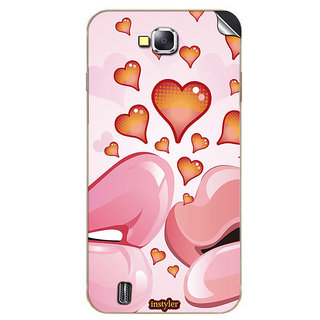 Instyler Mobile Skin Sticker For Karbonn A12 MSKARBONNA12DS10113