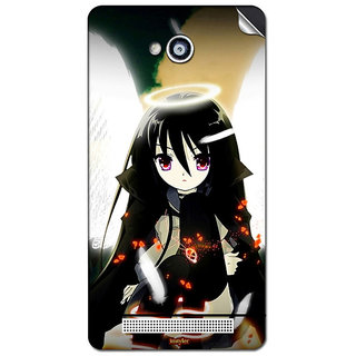 Instyler Mobile Skin Sticker For Karbonn A-6 MSKARBONNA6DS10070