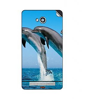 Instyler Mobile Skin Sticker For Karbonn A-6 MSKARBONNA6DS10014