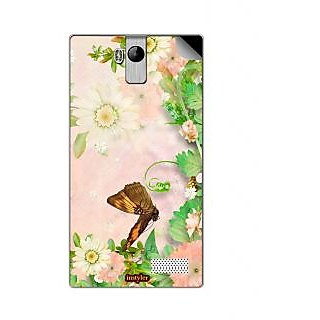Instyler Mobile Skin Sticker For Karbonn A6 Tarbo MSKARBONNA6TARBODS10044