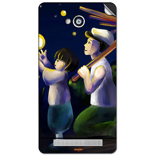 Instyler Mobile Skin Sticker For Karbonn A-6 MSKARBONNA6DS10051