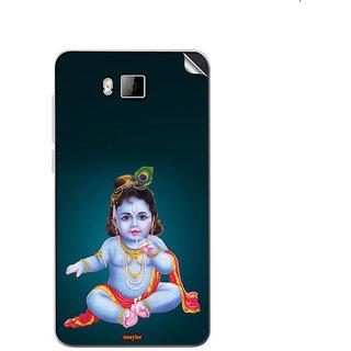 Instyler Mobile Skin Sticker For Lava Iris406Q
