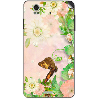 Instyler Mobile Skin Sticker For Lava Iris X1