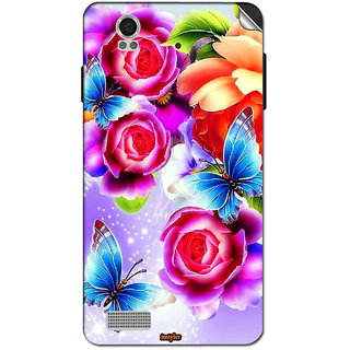 Instyler Mobile Skin Sticker For Lava Iris X5