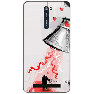 Instyler Mobile Skin Sticker For Lava Iris 503