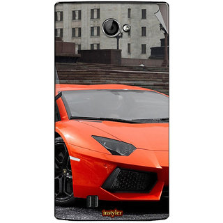 Instyler Mobile Skin Sticker For Lava Iris 456