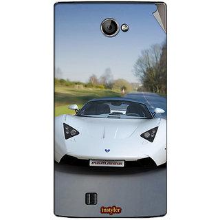 Instyler Mobile Skin Sticker For Lava Iris 456