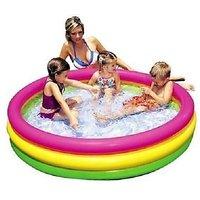 Intex Inflatable 3 Feet Baby Swimming Pool (34''10'')