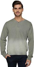 Bonaty Self Design Mens V-neck T-Shirt