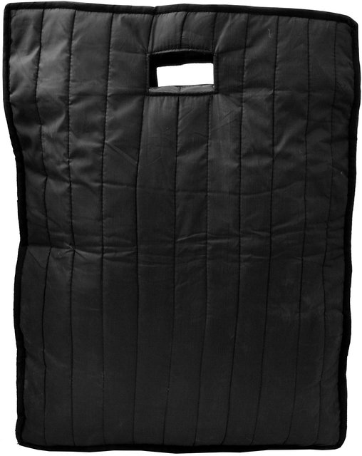 c341fdcac1ca Srajanaa Black Zipped Waterproof Shopping Bag
