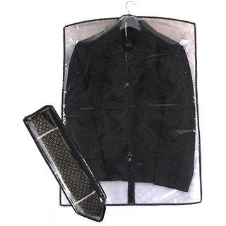 Srajanaa Mens Suit and Tie Cover / Wardrobe Organizer