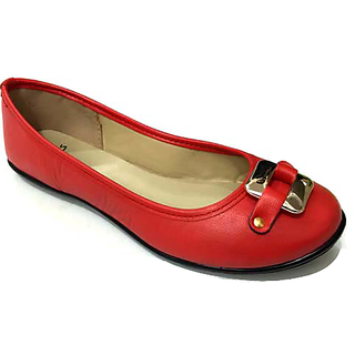 STYLAR Alia Ballerinas (Red)