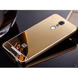 best website 212be 14658 Mirror Back Cover Case Metal Frame Redmi Note 3