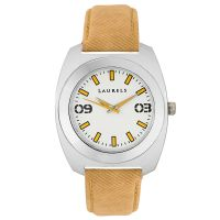 Laurels Excess 2 Analog White Dial Mens Watch - Lo-Exs-201