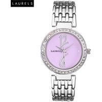Laurels Amber 1 Analog Purple Dial Womens Watch - LL-Amb-102