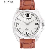 Laurels Diplomat Analog White Dial Mens Watch - Lo-Dip-301