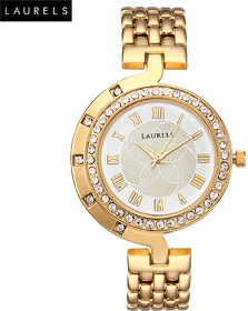 Laurels Ganga Analog Silver Dial Womens Watch - LL-Ganga-102