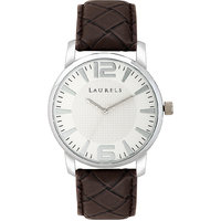 Laurels Officer 1 Analog Silver Dial Mens Watch - Lo-Off-101