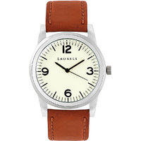 Laurels Helix Analog White Dial Mens Watch - LL-HLX-0109