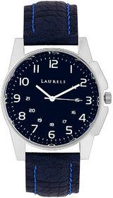 Laurels Hamilton Analog Blue Dial Mens Watch - LL-Hm-0303