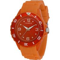 Laurels Ice Analog Orange Dial Kids Watch - Lo-IC-1111