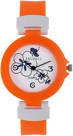 Laurels Kids 3 Analog White Dial Kids Watch - Lo-Kd-3009