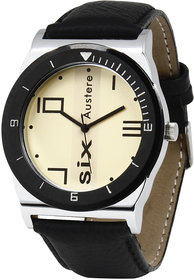 Austere Gatsby Analog Yellow Dial Mens Watch - MGT-1102