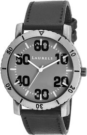 Laurels Furious Analog Grey Dail Mens Watch -Lo-FRS-0202GY