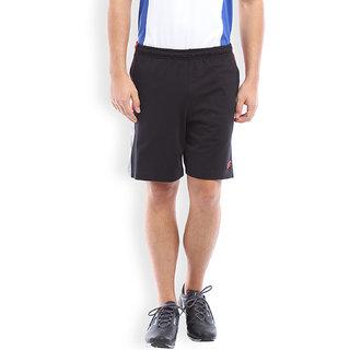 2Go Active Gear Usa Black/Red/Greymel Sports Shorts Ec-Sh-09-Black-Red-Greymel