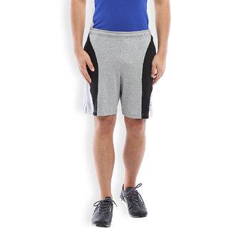2Go Active Gear Usa Greymel/Black Sports Shorts Ec-Sh-10-Greymel-Black