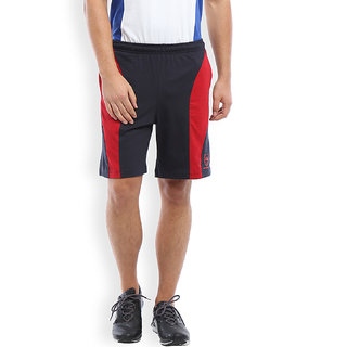 2Go Active Gear Usa Navy/Red Sports Shorts Ec-Sh-10-Navy-Red