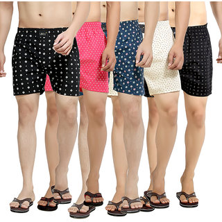 London Bee Mens Boxer Combo-3 Pack Of 5