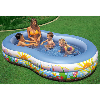 Online Intex Elongated Inflatable Pool Prices Shopclues India