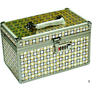 Phoenix International Silver Vanity Box