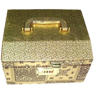 Phoenix InternationalGolden Make up Vanity Box/Bangle Box