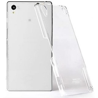 Ultra thin hard  transparent back cover for sony xperia M2