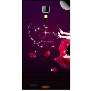 Instyler Mobile Skin Sticker For Lava Eg932