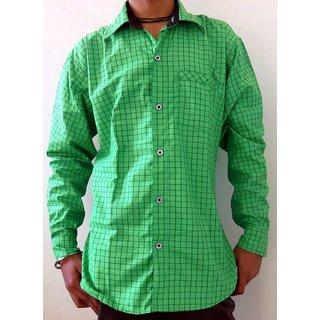Men's Casual Shirts Green