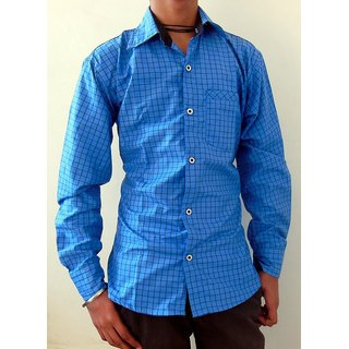 Men's Casual Shirts Blue