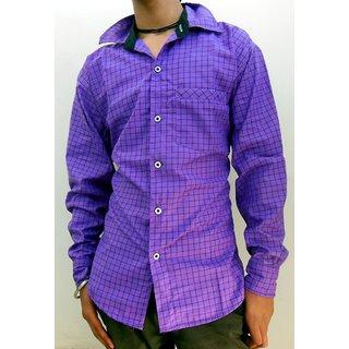 Men's Casual Shirts Purple