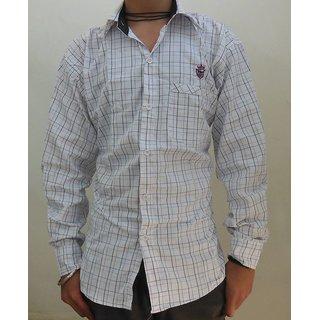 Men's Casual Shirts White