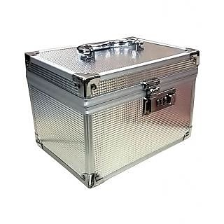 Phoenix International Attractive Silver Wedding /Vanity Case/ Mack-up box.....