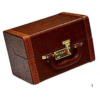 Phoenix International Beautiful Maroon Vanity Box