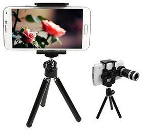 Shutterbugs 8X Zoom Telescope Camera Lens + Stand Tripod Holder for Mobile Phone