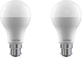 Wipro 7 W Led 6500K Cool Day Light Bulb (White, Pack Of 2)