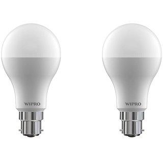Wipro 7 W Led 6500K Cool Day Light Bulb (White Pack Of 2)